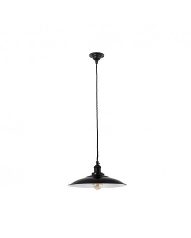 LANG Black pendant lamp