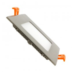 TP-04.22.106 Silver Square 6W UltraSlim LED Panel