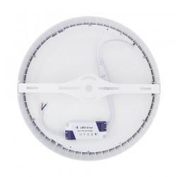 SP-08.01.024 White Round Design 24W LED Surface Panel