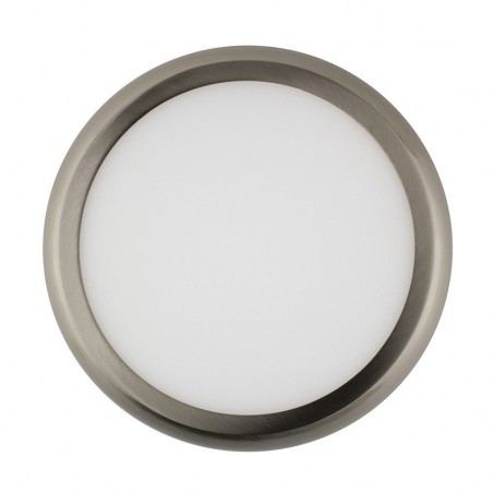 SP-08.22.018 Silver Round Design 18W LED Surface Panel