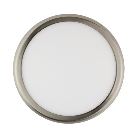 SP-08.22.024 Silver Round Design 24W LED Surface Panel