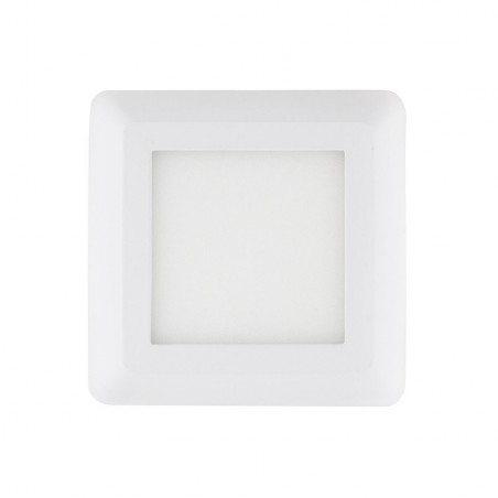 SP-42.01.006 White Square Design 6W LED Surface Panel