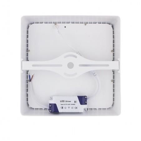 SP-42.01.012 White Square Design 12W LED Surface Panel