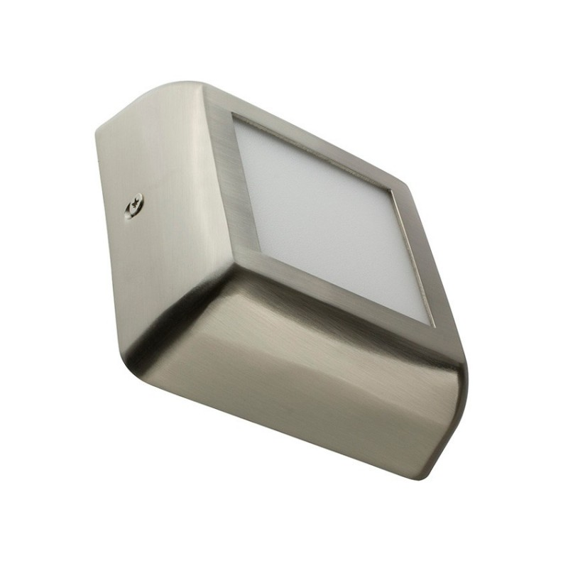 SP-42.22.006 Silver Square Design 6W LED Surface Panel