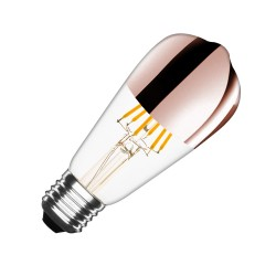 EL_24593844 Filament LED Bulb (Dimmable) Copper Reflect ST64 E27 7.5W