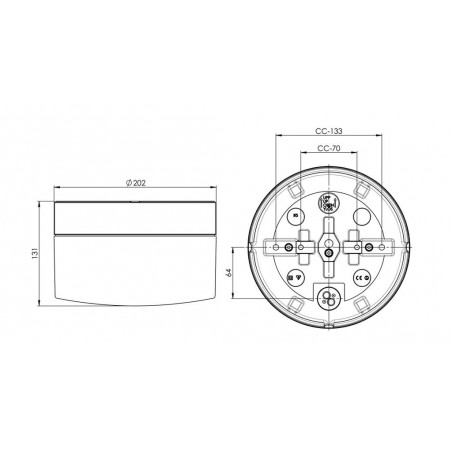 IE_8262-500-10 Ifo Electric Opus 200/135 IP44